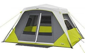 Core Instant Cabin Tent with Awning - 6 Person, Best cheap tent