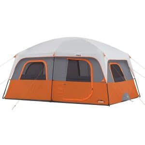 Core 10 Person Straight Wall Tent