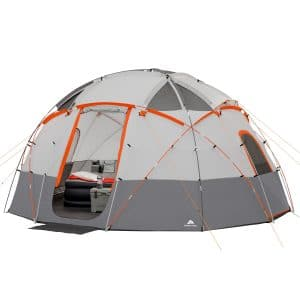 Ozark trail 12 person base camp tent with led lights