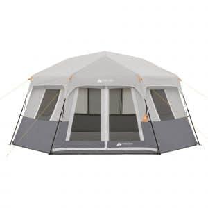 Ozark trail 8 person instant hexagon tent