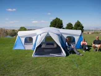 Ozark trail 16 person family camping tent