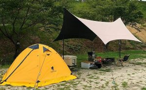 GEERTOP Backpacking Tent for 2 Person