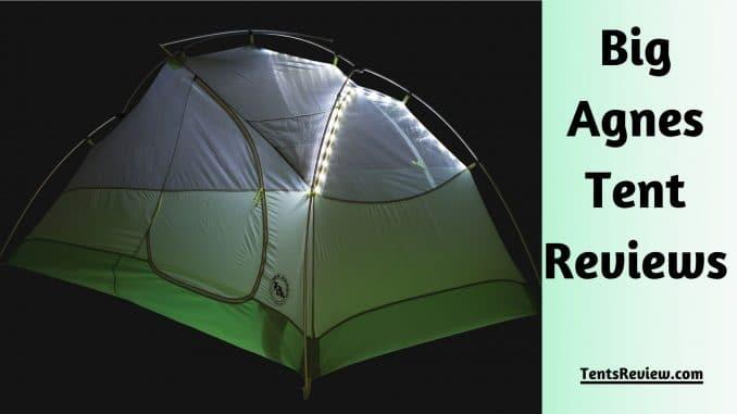 Big Agnes Tent Reviews