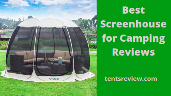 Best Screenhouse for camping reviews